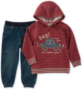 Kids Headquarters 2-Pc. Graphic-Print Hoodie & Pants Set, Little Boys (4-7)