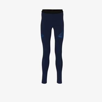 Soar blue Elite Session performance leggings