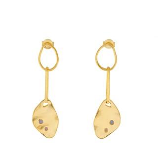 Wanderlust + Co Begin Anew Gold Earrings
