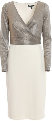 Lauren Ralph Lauren Lame Sheath Dress