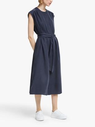 KIN Sleeveless Shirt Dress, Navy