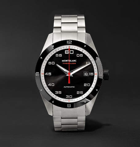 Montblanc Timewalker Date Automatic 41mm Stainless Steel And Ceramic Watch