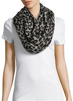 MICHAEL Michael Kors Reversible Logo and Cheetah Print Infinity Scarf
