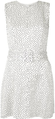 Alexis Dutsa belted polka dot dress