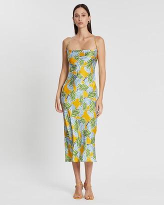 Bec & Bridge Palm Paradise Midi Dress