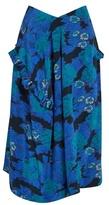 Preen by Thornton Bregazzi Verda floral-print silk skirt