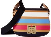 Tommy Hilfiger TH Twist Stripe Saddle Bag Handbags