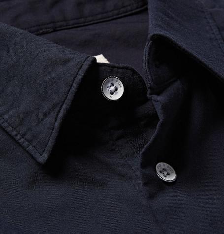 Rag & Bone Standard Issue Beach Slim-Fit Cotton-Twill Shirt