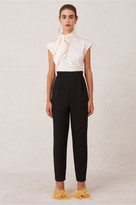 Keepsake IRONIC JUMPSUIT creme w black