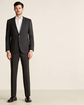 HUGO BOSS Two-Piece Dark Grey Stretch Suit