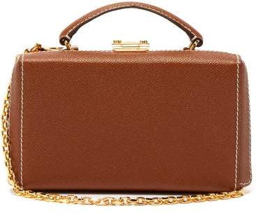Mark Cross Grace Gold-plated Leather Belt Bag - Womens - Tan