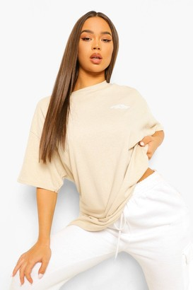 boohoo Oversized Limited Edition Back Print T-shirt