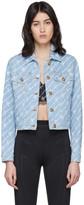 Versace Blue Denim Signature Jacket