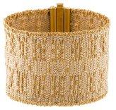 Carolina Bucci 18K Woven Bracelet