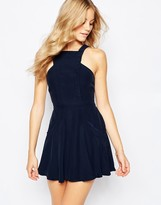 Finders Keepers Washed Up Skater Dress