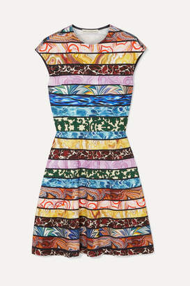 Mary Katrantzou Pinto Printed Stretch-jersey Dress - Blue