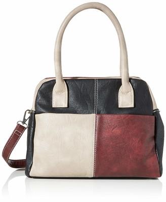 N.V. Bags Womens LUCY Shoulder Bag Blue (Navy)