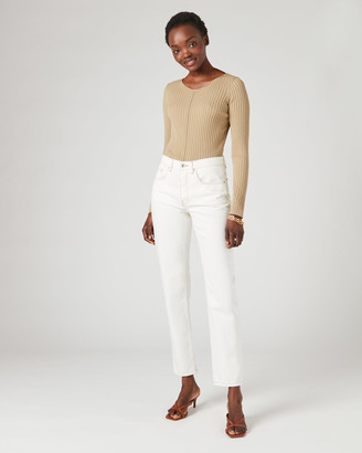 Jigsaw Long Sleeve Boat-Neck Jumper