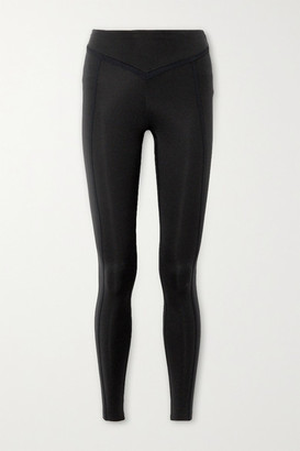 Ernest Leoty Corset Paneled Stretch Leggings - Black