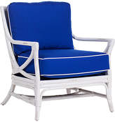 David Francis Furniture Island Breeze Lounge Chair - White