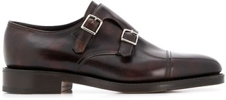 John Lobb William buckled monk shoes