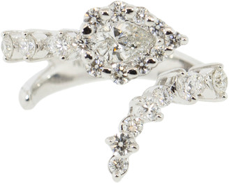 Yeprem Jewellery Pear and Round Diamond Ring