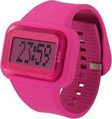 o.d.m. Women's DD125-3 Rainbow Digital Pink Watch