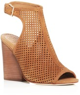 Tory Burch Jessie Perforated High Heel Booties