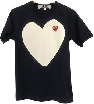 Play Comme Des Garã§Ons Play Comme Des GarAons Navy Cotton T-shirts