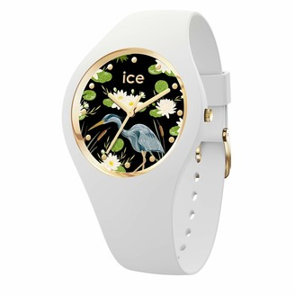 Ice Watch Ice-Watch - ICE flower Waterlily - Women's wristwatch with silicon strap - 016666 (Medium)