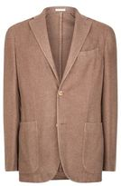 Boglioli Silk-cashmere Patch Pocket Jacket