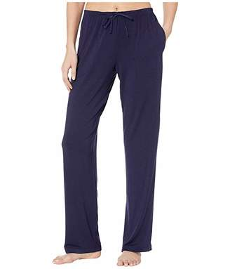 Donna Karan Modal Spandex Jersey Long Pants (Ink) Women's Pajama