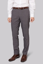 Moss Bros Skinny Fit Grey Tonic City Pants