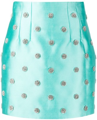 Giuseppe di Morabito Embellished Fitted Skirt
