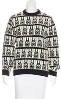 Peter Jensen Wool Knit Sweater