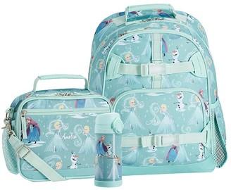 Pottery Barn Kids Mackenzie Disney Frozen Backpack & Cold Pack Lunch Bundle, Set Of 3