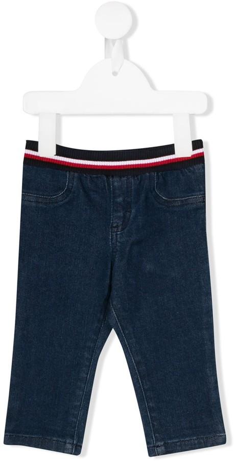 Junior straight leg jeans
