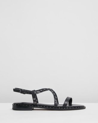 Siren Women's Black Strappy sandals - Bilby - Size One Size, 37 at The Iconic