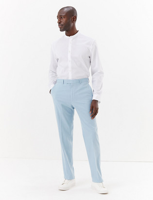 Marks and Spencer Big & Tall Pastel Slim Fit Trousers