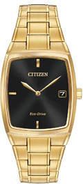 Citizen 44mm Square Sunray Bracelet Watch
