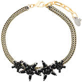 Rada' Radà gemstone star embellished choker necklace