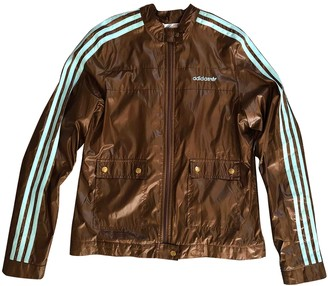 adidas Brown Polyester Jackets