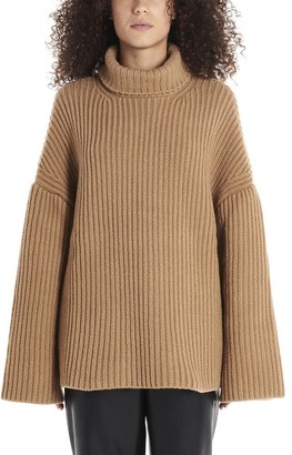 Nanushka Knitted Turtleneck Oversized Sweater