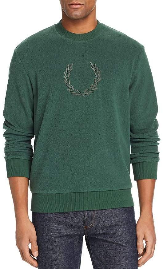 Fred Perry Embroidered Fleece Sweatshirt