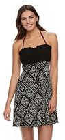 Porto Cruz Women's Portocruz Tribal Smocked Strapless Cover-Up