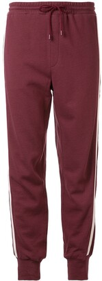GOODIOUS Side Stripe Track Trousers