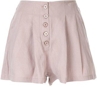 Ulla Johnson Mid Rise Shorts