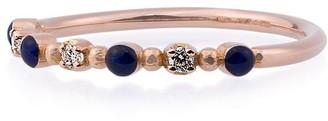 Gigi Clozeau Rose Gold Beaded Diamond Ring