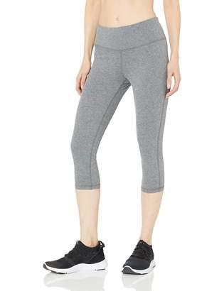 Amazon Essentials Women's Studio Sculpt Mid-Rise Capri Yoga Legging