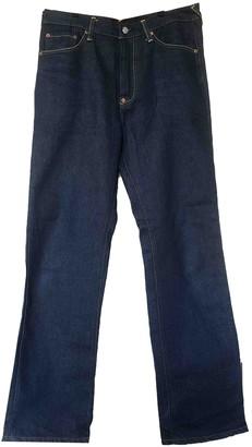 Evisu Blue Cotton Jeans for Women